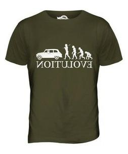 Taxi Evolution Of Uomo T-Shirt Maglietta Giftcabby Cabina